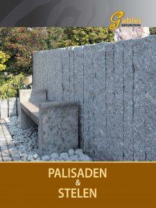 Katalog Deckblatt Palisaden und Stelen