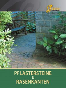 Katalog Deckblatt Pflastersteine und Rasenkanten
