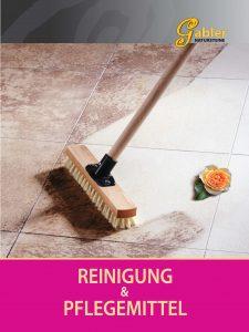 Katalog Deckblatt Reinigung und Pflege