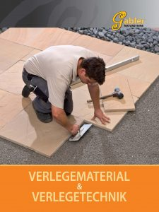 Katalog Deckblatt Verlegematerial und Technik